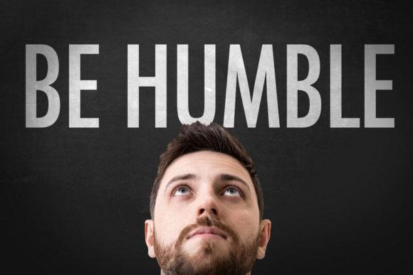 Bescheidenheit - bescheiden sein - be humble (© gustavofrazao / Fotolia)